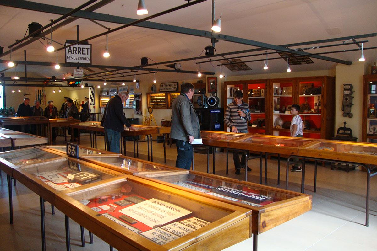 Notre musée ferroviaire à Martel (Lot 46) Train à vapeur du Haut-Quercy