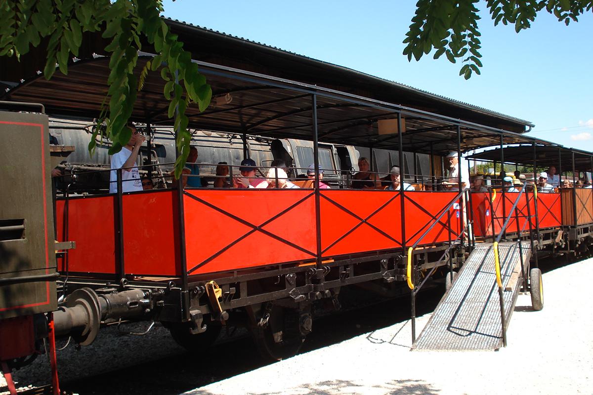 Baladeuse Le Train à vapeur de Martel | Chemin de fer Touristique du Haut-Quercy